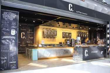 L'entrata di C. Coffee Lover