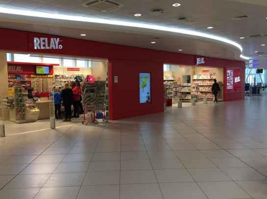 Il punto vendita Relay