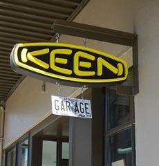 Keen Garage Sign