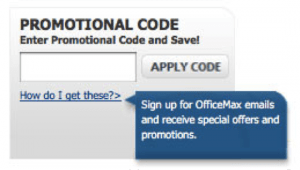 Oficemax Promo Code
