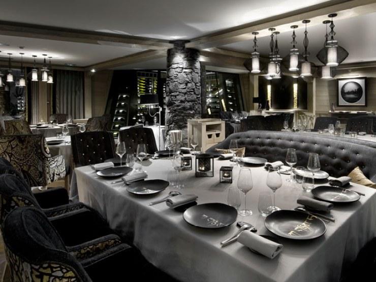 Diner au restaurant Black Pyramid