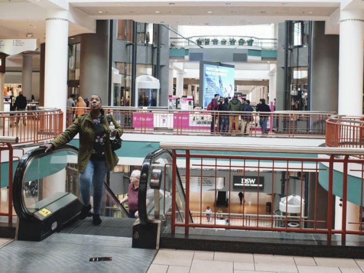 Malls under pressure
