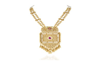 Ethnic Gold Plated Necklace