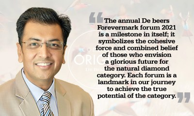 The annual De Beers Forevermark Forum 2021 is a milestone in itself: Sachin Jain