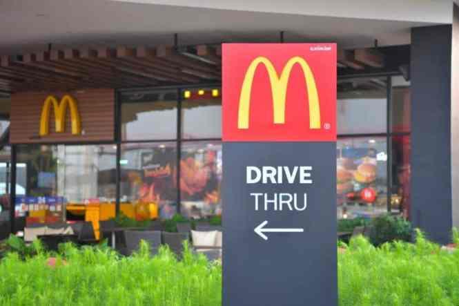McDonalds Drive Thru Ordering