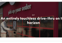 touchless drive thru kiosk