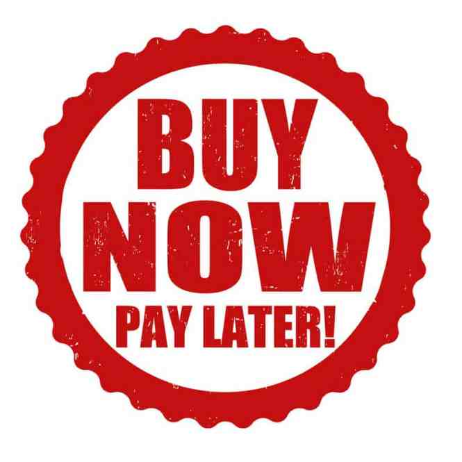 Buy Now Pay Later Payment