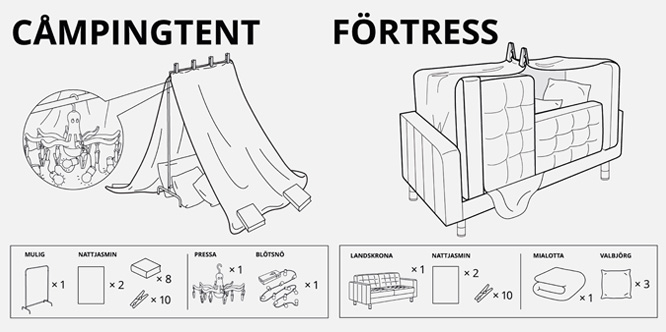 Popped Culture If Ikea Made Instructions For Everything