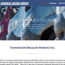 Commercial Discount Brokers Website