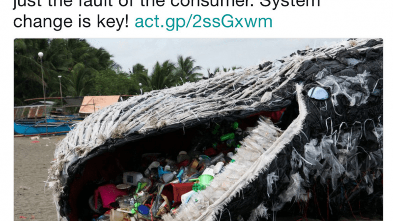 Giant 'Dead Whale' Is Haunting Reminder of Massive Plastic Pollution Problem