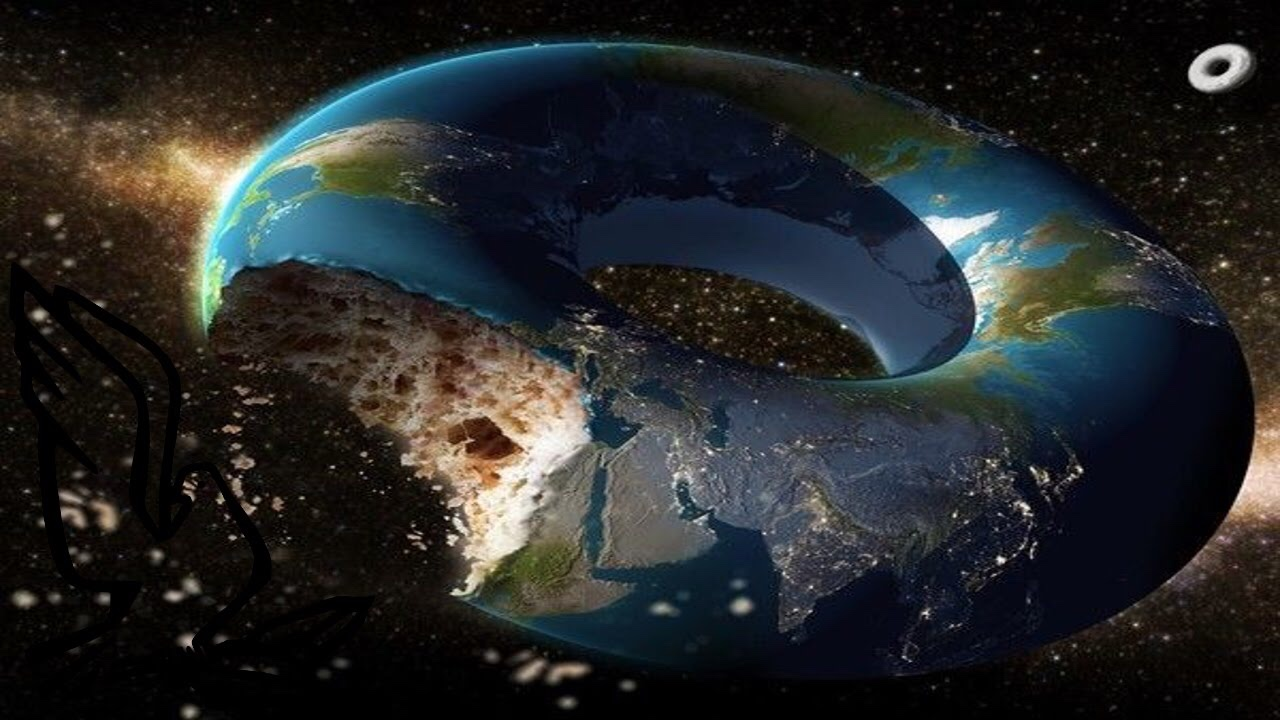 New Claim By Flat Earthers (Donut Shape Earth)