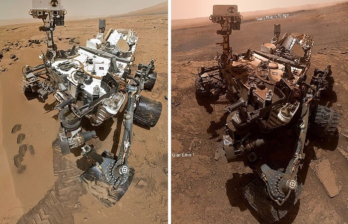 NASA's Robotic Rover Curiosity Has Been On Mars For Over 7 Years And Here're Its Best 30 Pictures