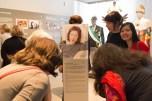 """Ritratto di Elena Giampaoli, parte dell'opera """" ''RÜBER FRAUEN. Segni di una recente emigrazione femminile a Berlino."""" di Ornella Orlandini (testi a cura di Elena Giampaoli)."""