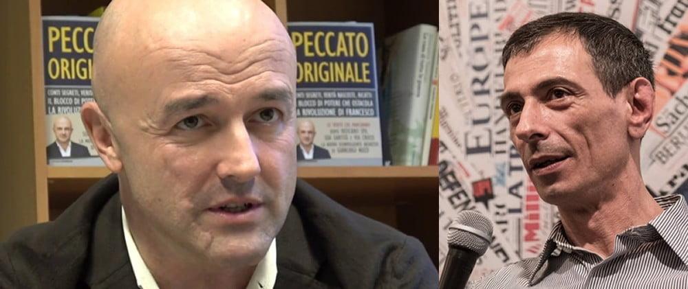 Domenica 15 a Celle Ligure Gianluigi Nuzzi presenta il suo ultimo libro inchiesta PECCATO ORIGINALE. Interverrà Francesco Zanardi, presidente della Rete L'ABUSO