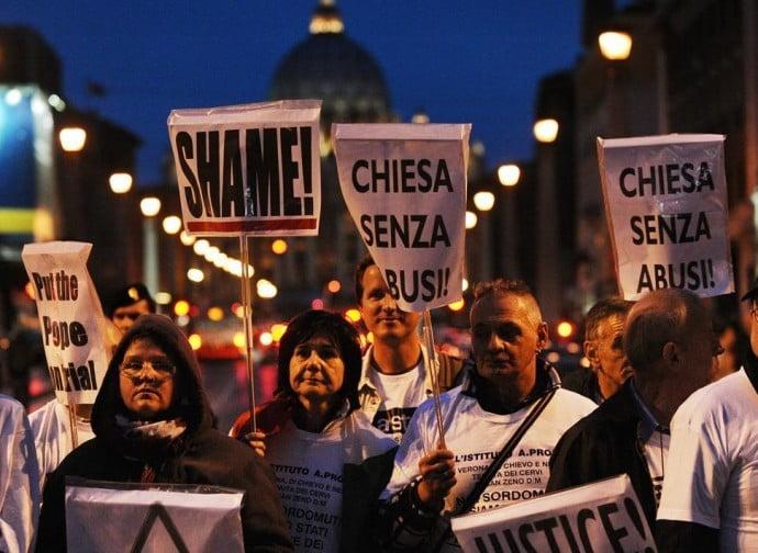 In piazza per dire no al silenzio sugli abusi del clero