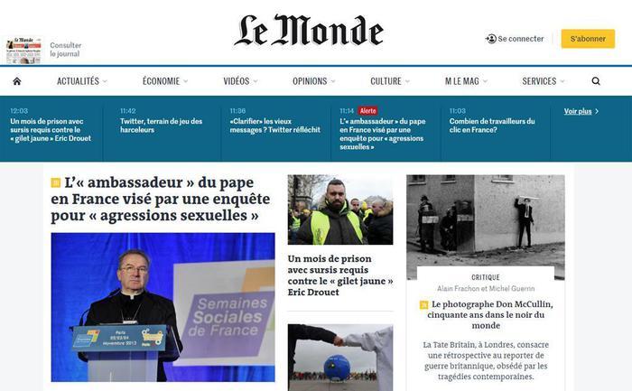 Abusi sessuali, aperta inchiesta su nunzio a Parigi