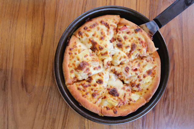 Rețetă pentru pizza rapidă la tigaie
