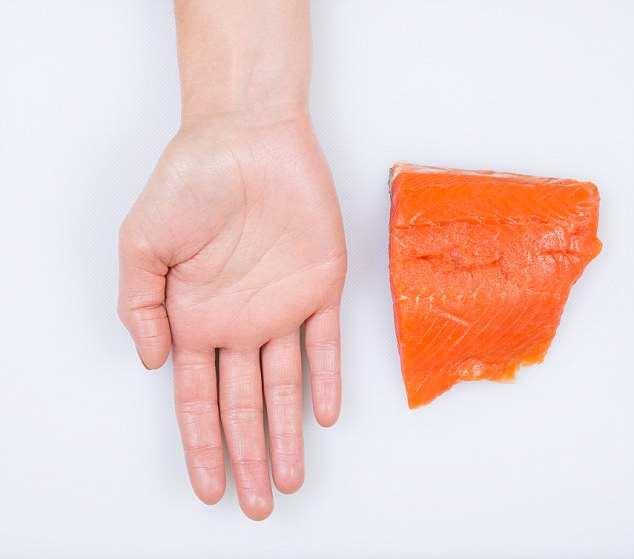 Cum să determinați  dimensiunea unei porții de mâncare