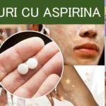 8 UTILIZĂRI ALE ASPIRINEI CARE VOR INTERESA MULTE FEMEI