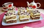 Prăjitura Armonia gustului cu gem de gutui între straturi