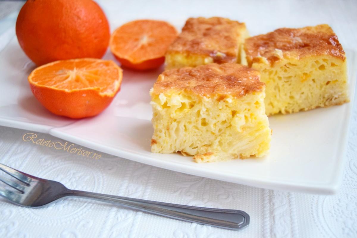 Plăcintă grecească cu portocale și iaurt