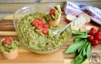 Salată de vinete cu leurdă și dovlecei