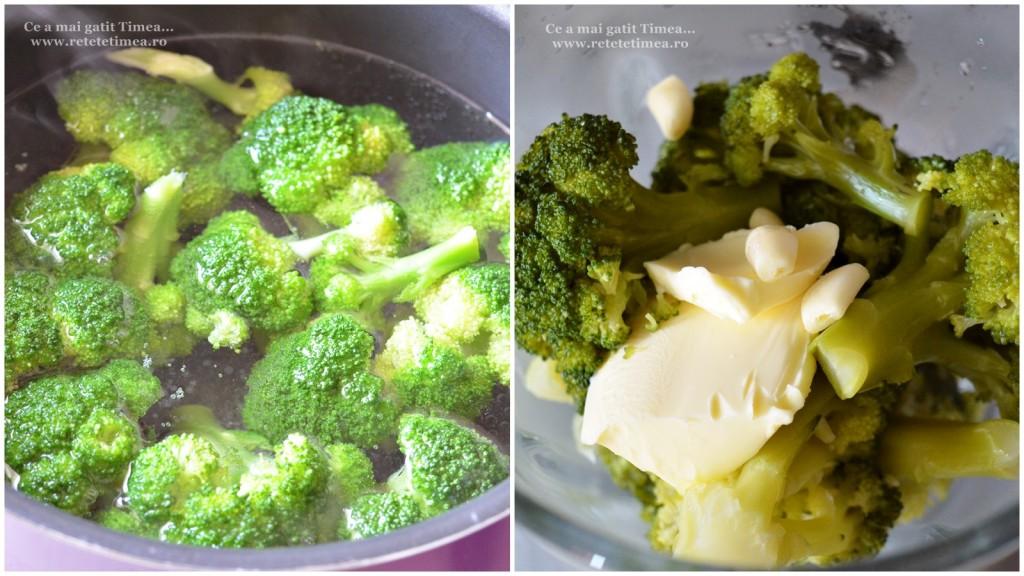 mod de preparare  piure de broccoli