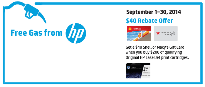 HP Toner Rebate From Office Essentials