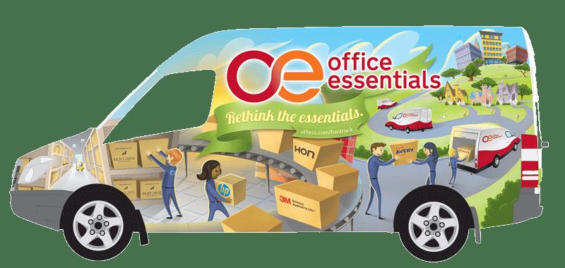 Office Essentials Fun Truck
