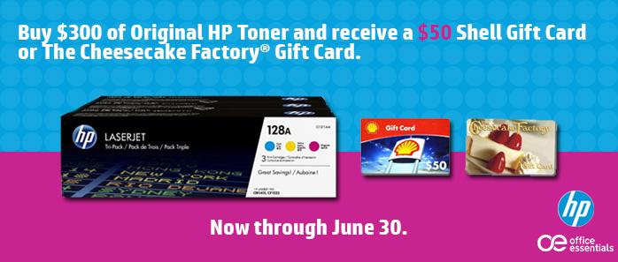 HP Toner Promo