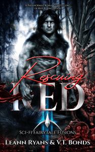 Book Cover: Rescuing Red: A Paranormal Romance retelling of Red Riding Hood