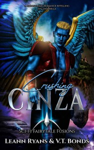Book Cover: Crushing Cinza: A Paranormal Romance retelling of Cinderella