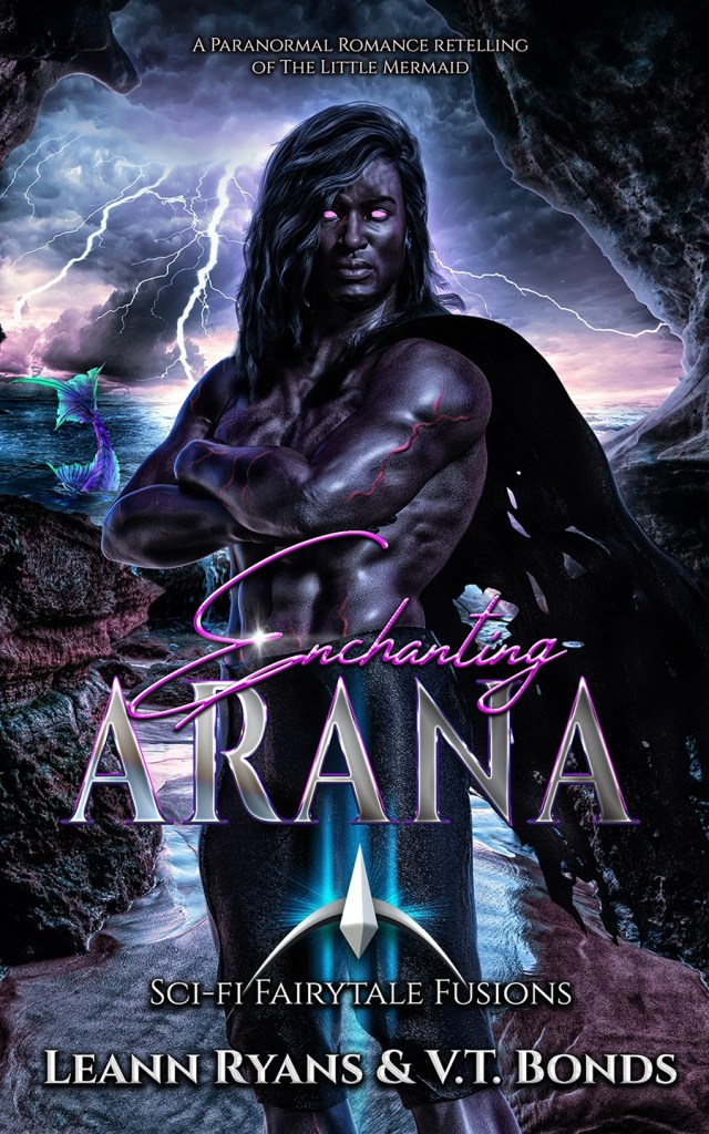 Book Cover: Enchanting Arana: A Paranormal Romance retelling of The Little Mermaid