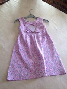 ELISA-Robe rose de dos-1