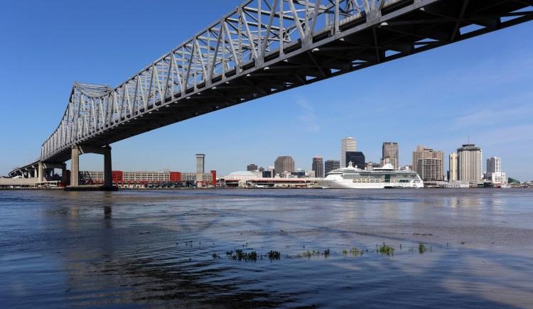 Skyline of New Orleans Louisiana