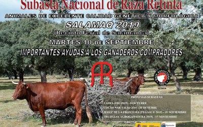 Cartel de la Feria de Salamanca 2019