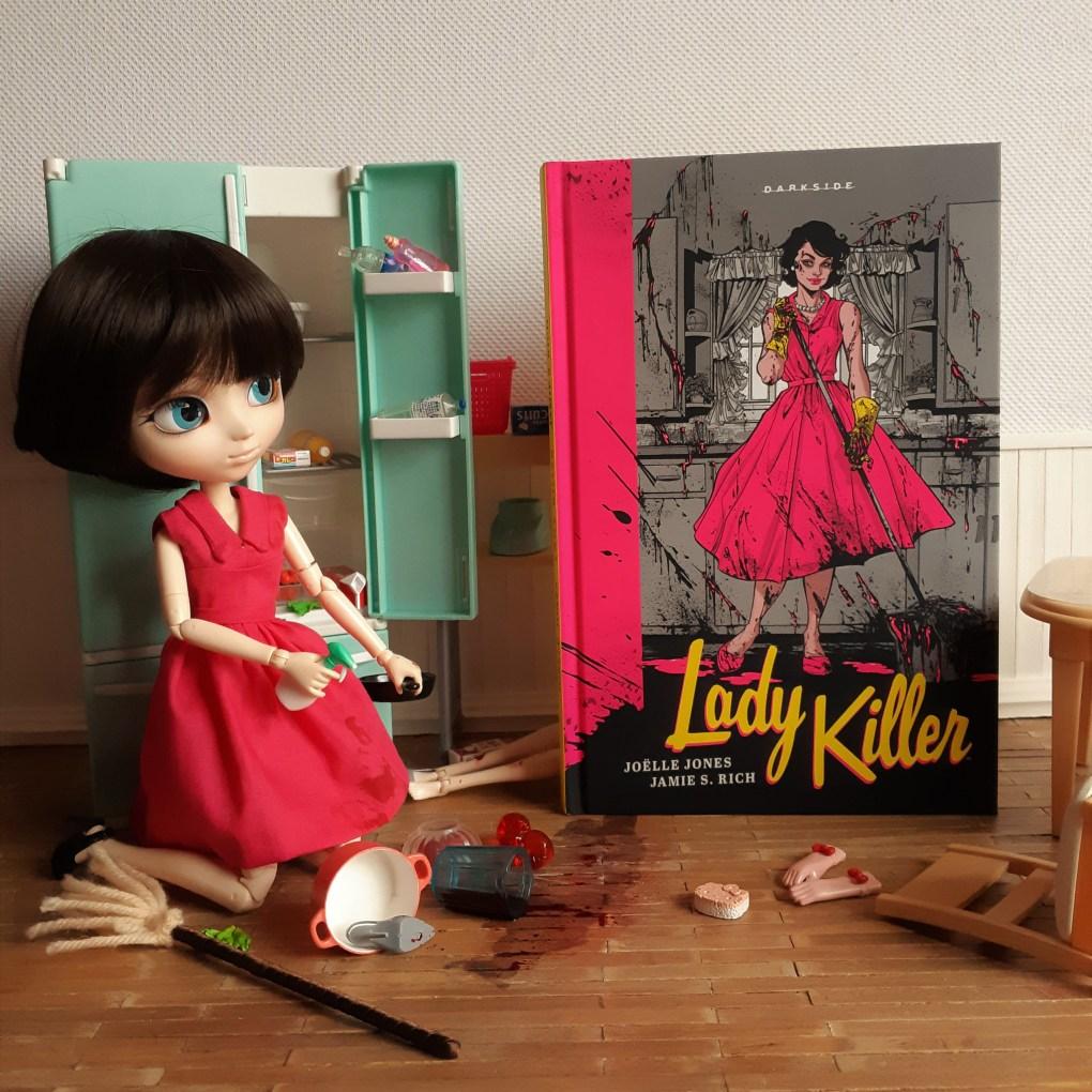 Resenha da HQ Lady Killer de Joëlle Jones & Jamie S. Rich - DarkSide Books.