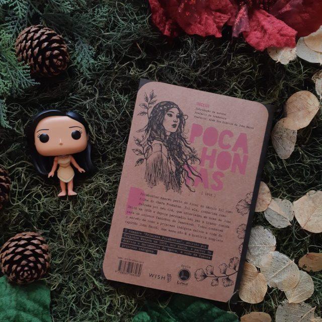 Resenha de Princesa Pocahontas de Virginia Watson publicado pela Wish em 2019.