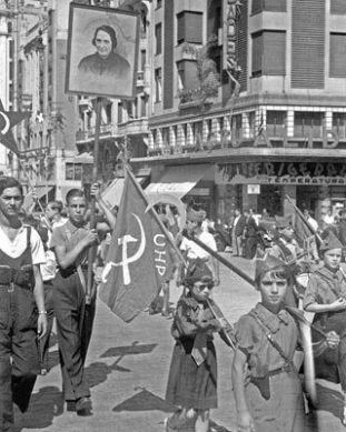 Madrid, fin juillet 1936.