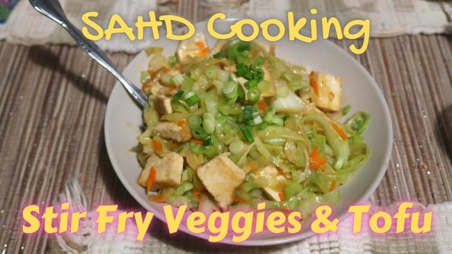 Stir Fry Veggie & Tofu650