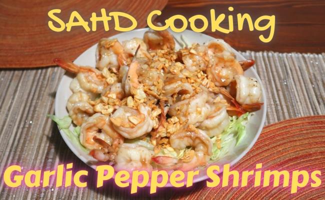 Garlic Pepper Shrimps 650