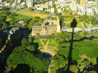 Hyde park & Centrepoint, Sydney, NSW