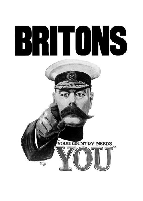 Your Country Needs You (Like Never Before)