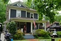 One of the neighborhood homes