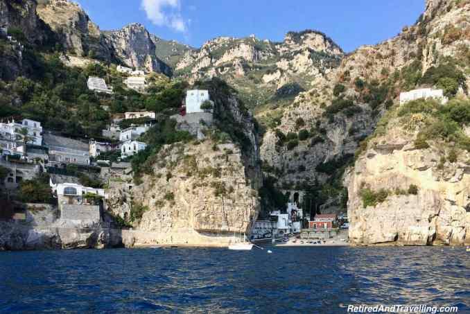 Praiano Marina Petit Bar Mare - Amalfi Coast By Boat From Sorrento Italy.jpg
