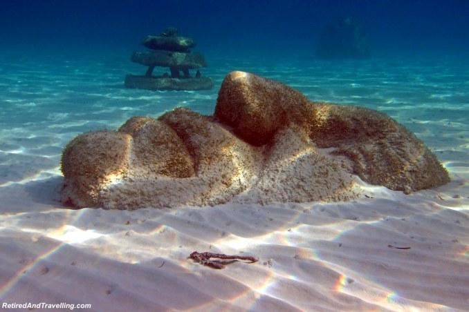 Underwater Face Statue - Snorkel Ocean Atlas In Nassau.jpg