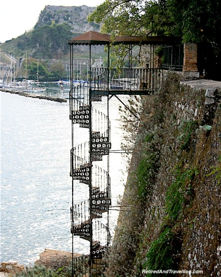 Corfu Circular Stairway - Exploring Greek Islands.jpg