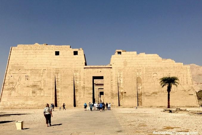 First Pylon - Medinet Habu - Mortuary Temples.jpg