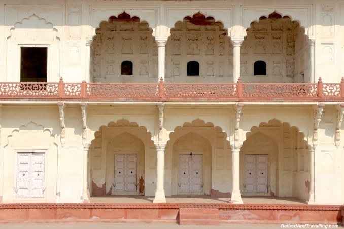 Khas-Mahal Palace - Red Fort in Agra.jpg