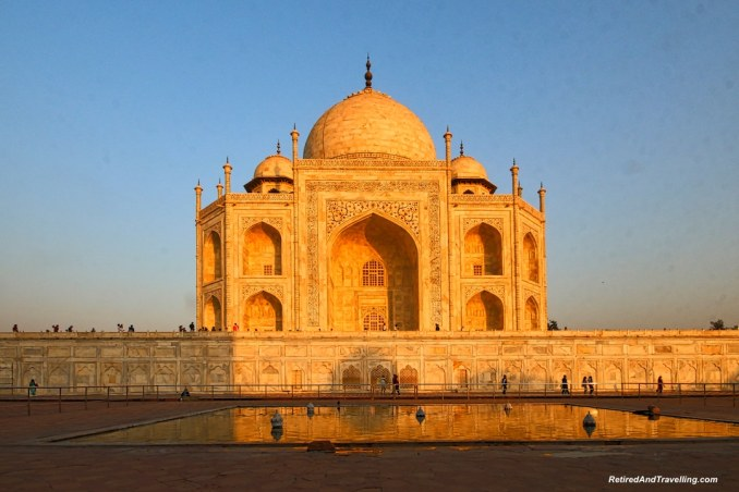Sunset - Taj Mahal at Sunrise and Sunset.jpg